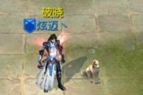 今天在游戏领了只宠物中华田园犬